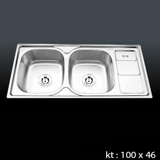 CHẬU INOX.MÃ SP:C5 ( KT 100 x 46 x 23 )